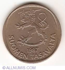 Image #2 of 1 Markka 1987 M