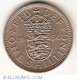 Image #1 of 1 Shilling 1956