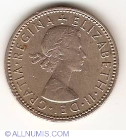 Image #2 of 1 Shilling 1956