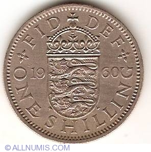 1960 1 shilling coin value