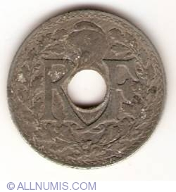 Image #1 of 10 Centimes 1941 - dash below MES in C MES