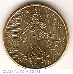 Image #2 of 10 Euro Cent 2010