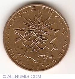 Image #2 of 10 Francs 1987