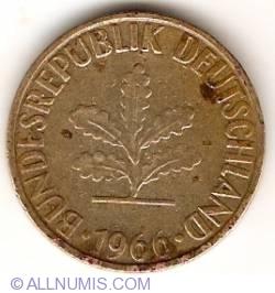 Image #2 of 10 Pfennig 1966 G