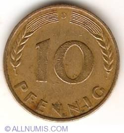 Image #1 of 10 Pfennig 1967 D