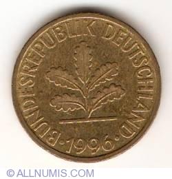 Image #2 of 10 Pfennig 1996 G