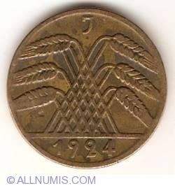 Image #2 of 10 Rentenpfennig 1924 J