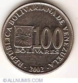 Image #1 of 100 Bolivares 2002