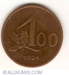 Imaginea #1 a 100 Kronen 1924