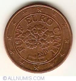 Imaginea #2 a 5 Euro Centi 2010