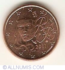 Image #2 of 1 Euro Cent 2011