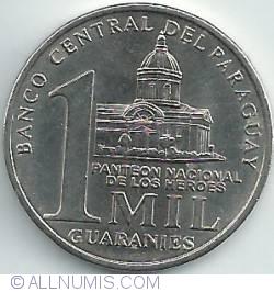 Imaginea #1 a 1000 Guaranies 2006