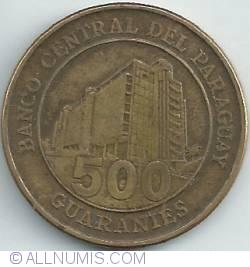 Imaginea #1 a 500 Guaranies 2005