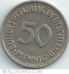 Imaginea #1 a 50 Pfennig 1982 G