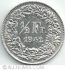 Image #1 of 1/2 Franc 1942