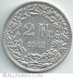 Image #1 of 2 Francs 1912