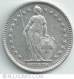 Image #2 of 2 Francs 1912