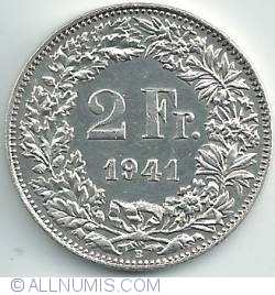 Image #1 of 2 Francs 1941