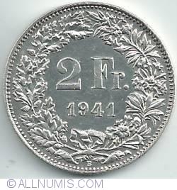 Imaginea #1 a 2 Franci 1941