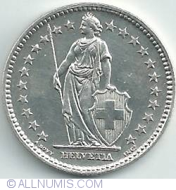 Image #2 of 2 Francs 1941