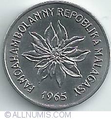 Imaginea #2 a 2 Franci 1965