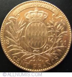 Imaginea #1 a 100 Francs 1891
