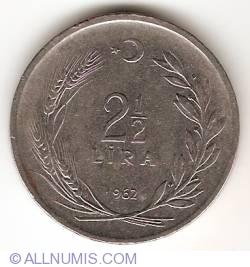 Image #1 of 2 1/2 Lira 1962