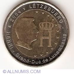 2 Euro 2004 - Effigy and monogram of Grand-Duke Henri