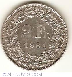 Imaginea #1 a 2 Franci 1961