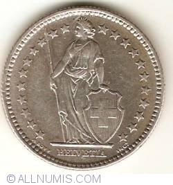 Image #2 of 2 Francs 1961