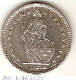 Imaginea #2 a 2 Franci 1961