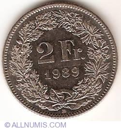 Image #1 of 2 Francs 1989