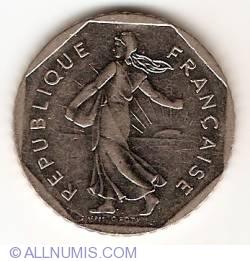 Image #2 of 2 Francs 2000