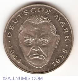 Image #2 of 2 Mark 1990 D - Ludwig Erhard