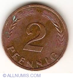 Image #1 of 2 Pfennig 1950 J