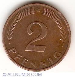 Image #1 of 2 Pfennig 1959 G