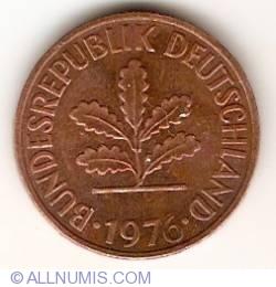 Image #2 of 2 Pfennig 1976 F