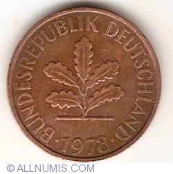 Image #2 of 2 Pfennig 1978 J