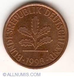 Image #2 of 2 Pfennig 1993 D