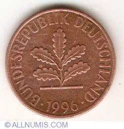 Image #2 of 2 Pfennig 1996 A