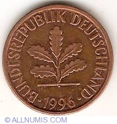 Image #2 of 2 Pfennig 1996 D