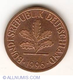 Image #2 of 2 Pfennig 1996 G