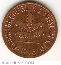 Image #2 of 2 Pfennig 1996 J