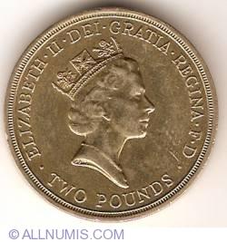 Imaginea #2 a 2 Pounds 1994 - Aniversarea de 300 ani a Bancii Angliei