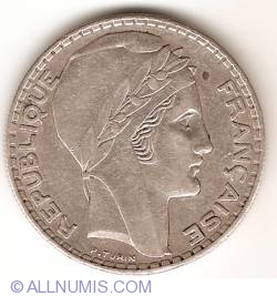 Image #2 of 20 Francs 1938
