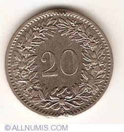 Imaginea #1 a 20 Rappen 1893