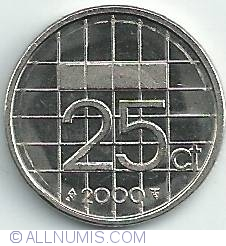 Image #1 of 25 Cents 2000