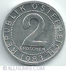 Image #1 of 2 Groschen 1983