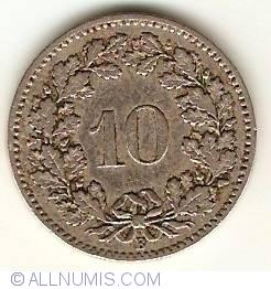 Image #1 of 10 Rappen 1897