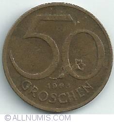 Image #1 of 50 Groschen 1963